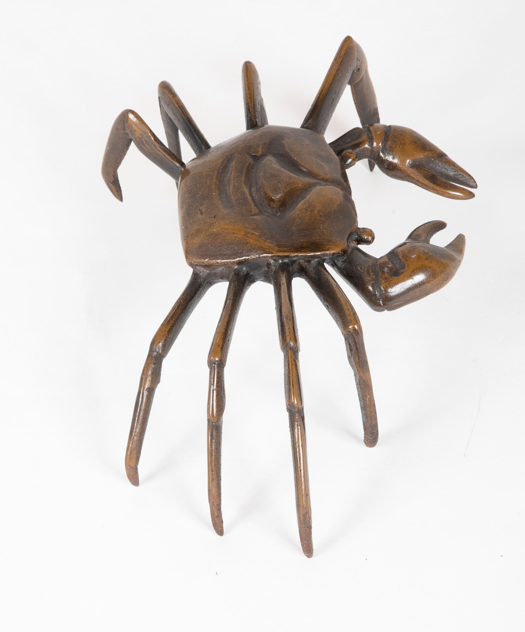 A 20th Century Japanese Bronze Crab