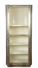 White Metal Armoire