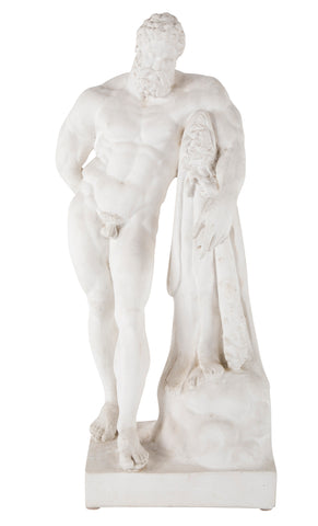 Cast Plaster Reproduction of Hercules by Farnese
