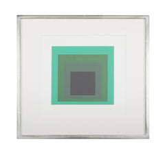 Josef Albers Homage to The Square from Formations: Articulation 1972. Silkscreen prints, Folio II Folders 13.