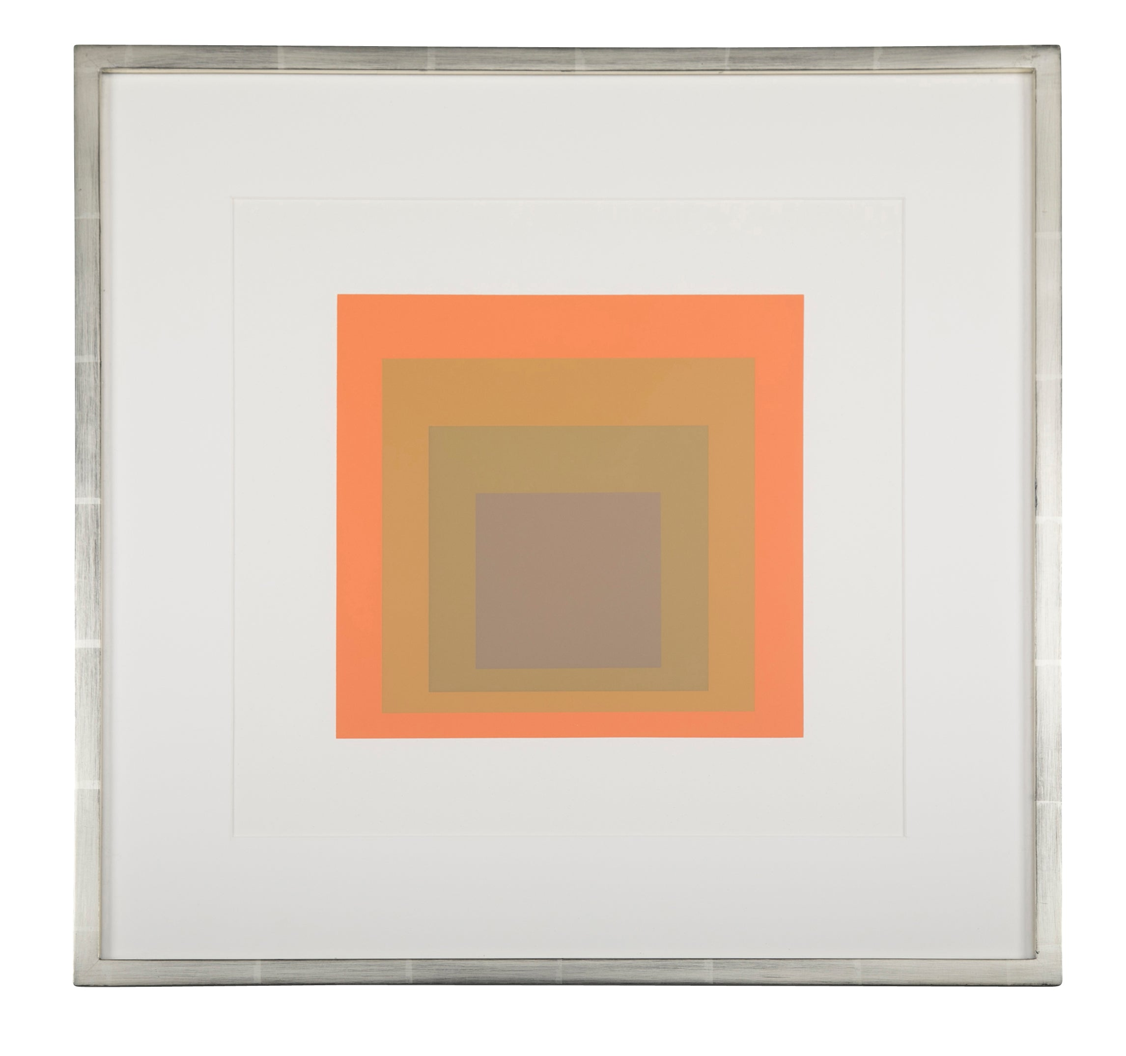 Josef Albers Homage to The Square from Formations: Articulation Folio II Folders 19.