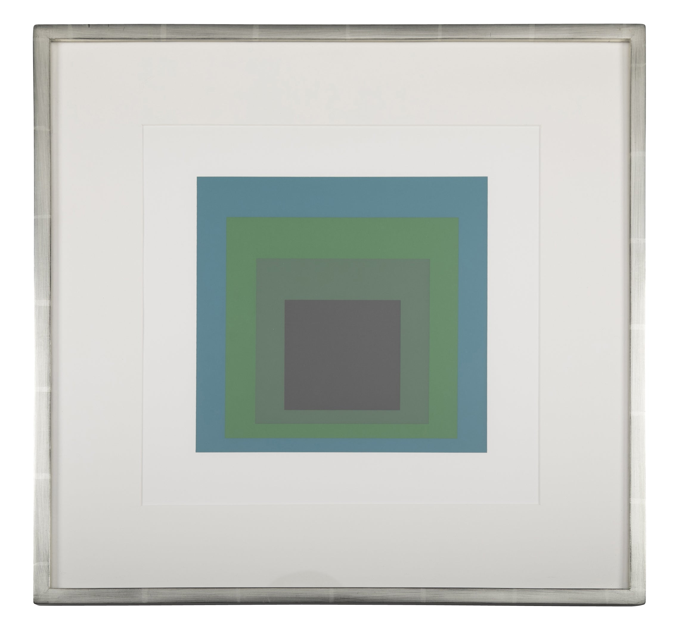 Josef Albers Homage to The Square from Formations: Articulation  Folio II Folders 17.