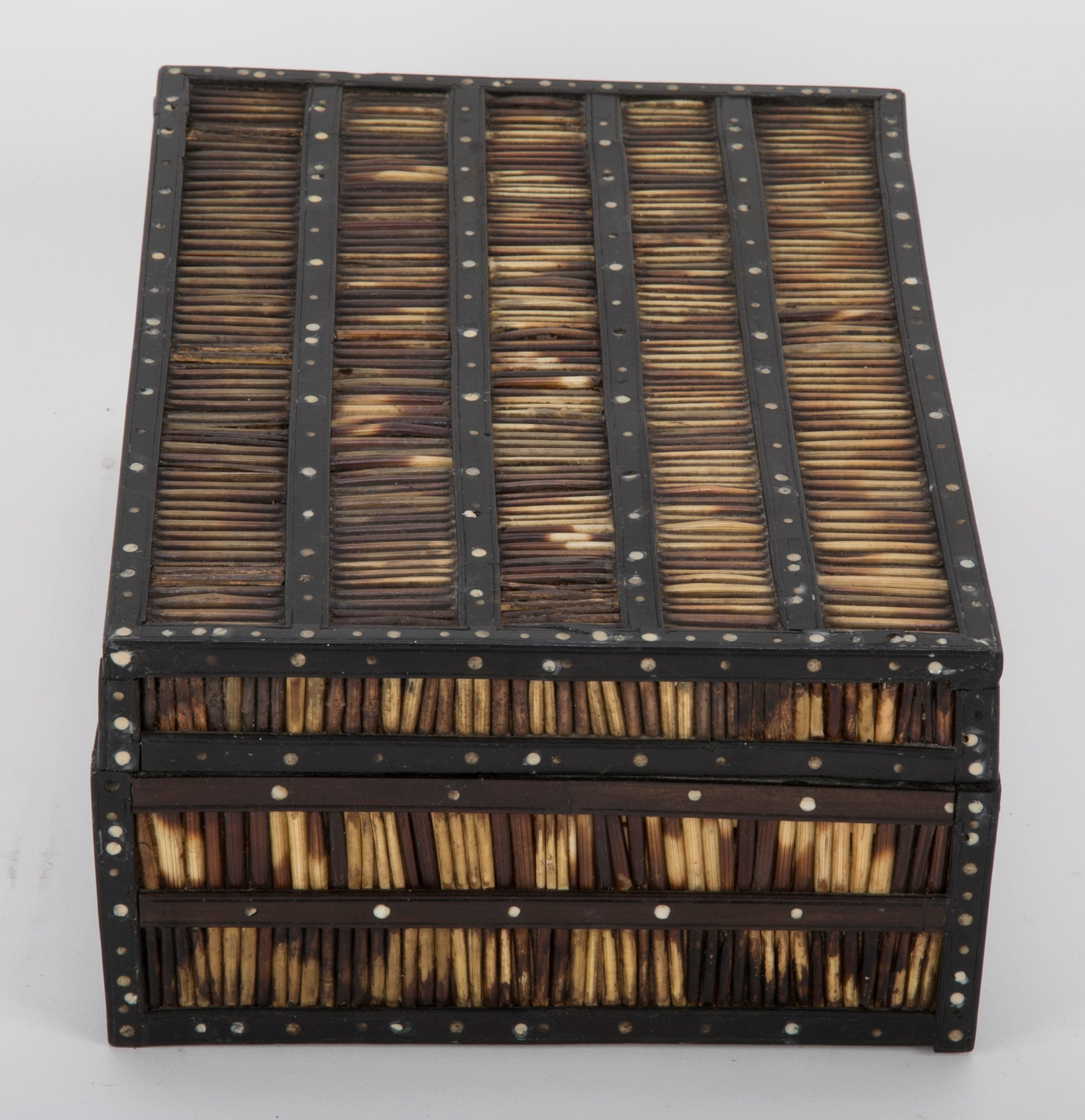 Anglo-Indian Porcupine Quill Box