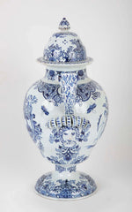 Early 19th Century French Faience Lidded Jar