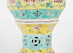 An Early 20th Century Pair of Chinese Porcelain Lanterns