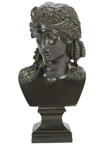 Patinated Bronze Bust