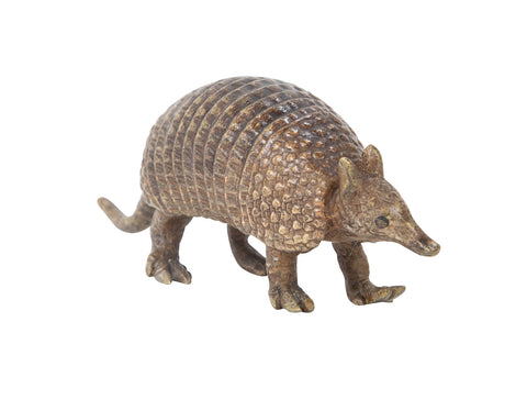Austrian Bronze Figure of an Armadillo