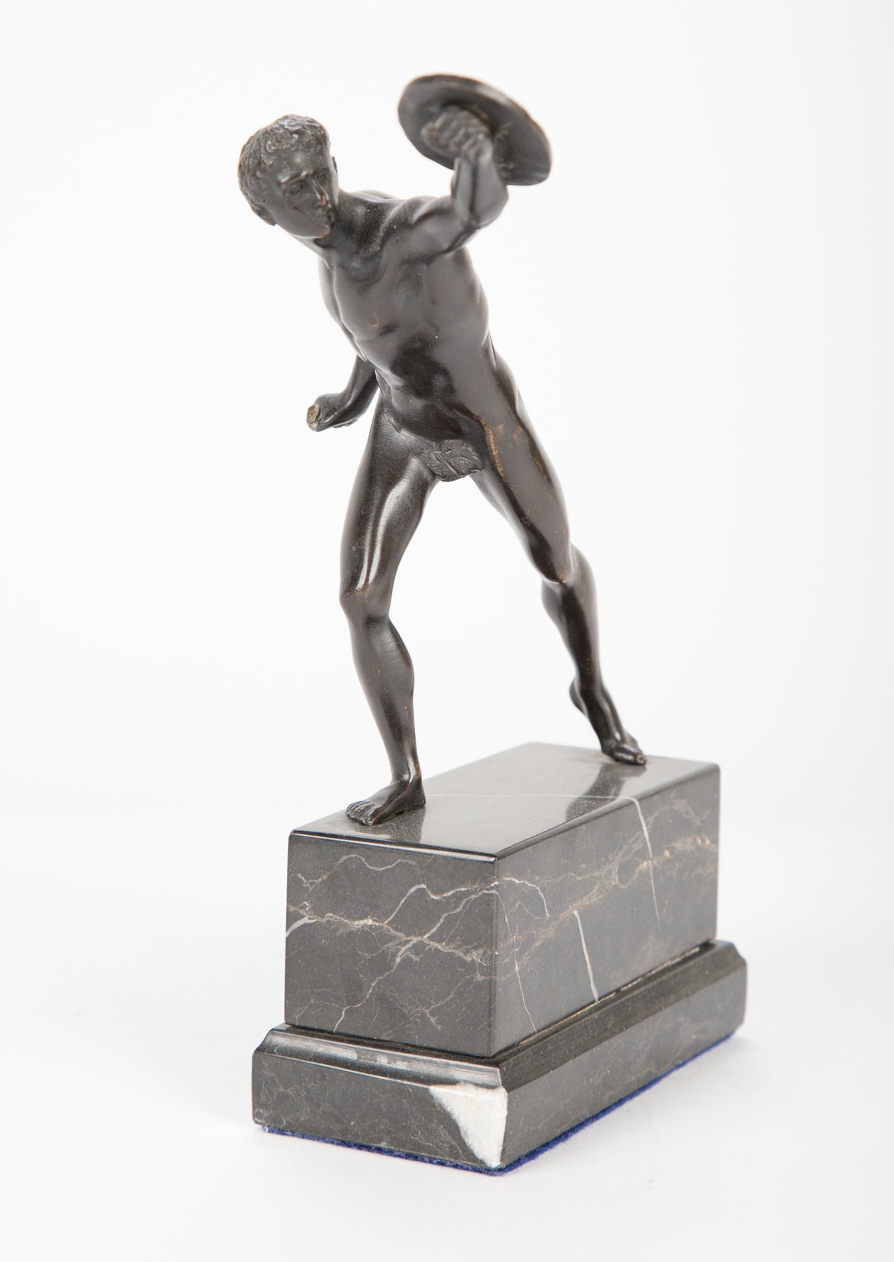 Patinated Bronze Figure of a Gladiator