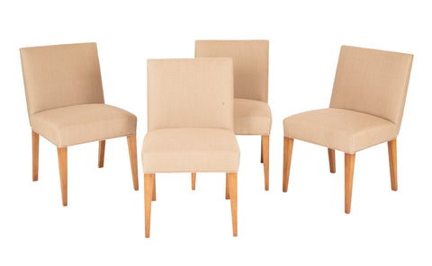 Set of Four T.H RobsJohn-Gibbings Dining Chairs for Widdicomb.