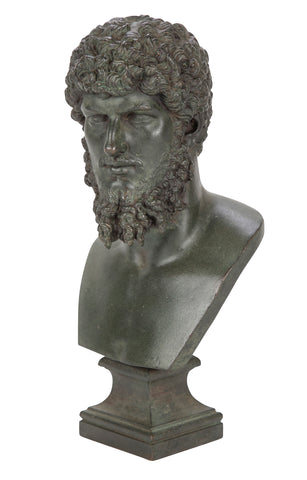 Grand Tour Patinated Bust