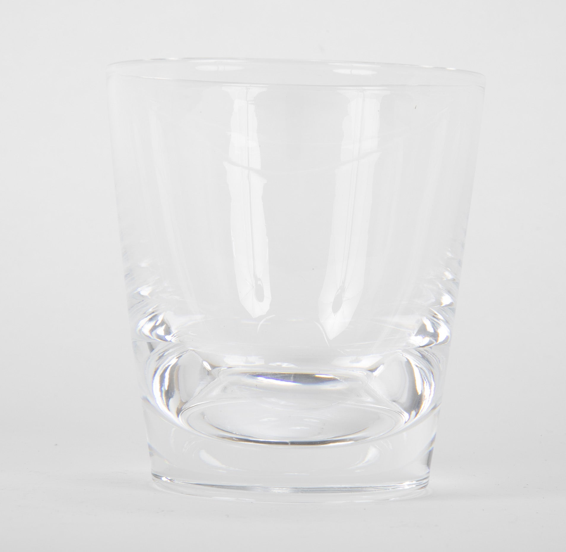 "Nine Steuben ""Old Fashioned"" Glasses with Flared Straight Sides"
