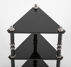 A Rare Transitional Side Table / Etagere  by Warren McArthur