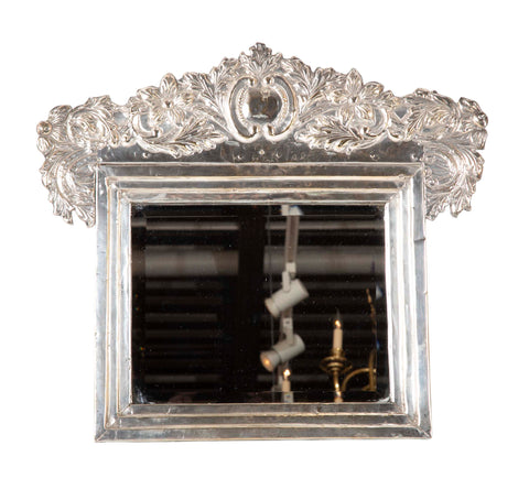 South American Silver Repousse Frame