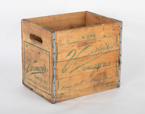 Vernor's Ginger Ale Box