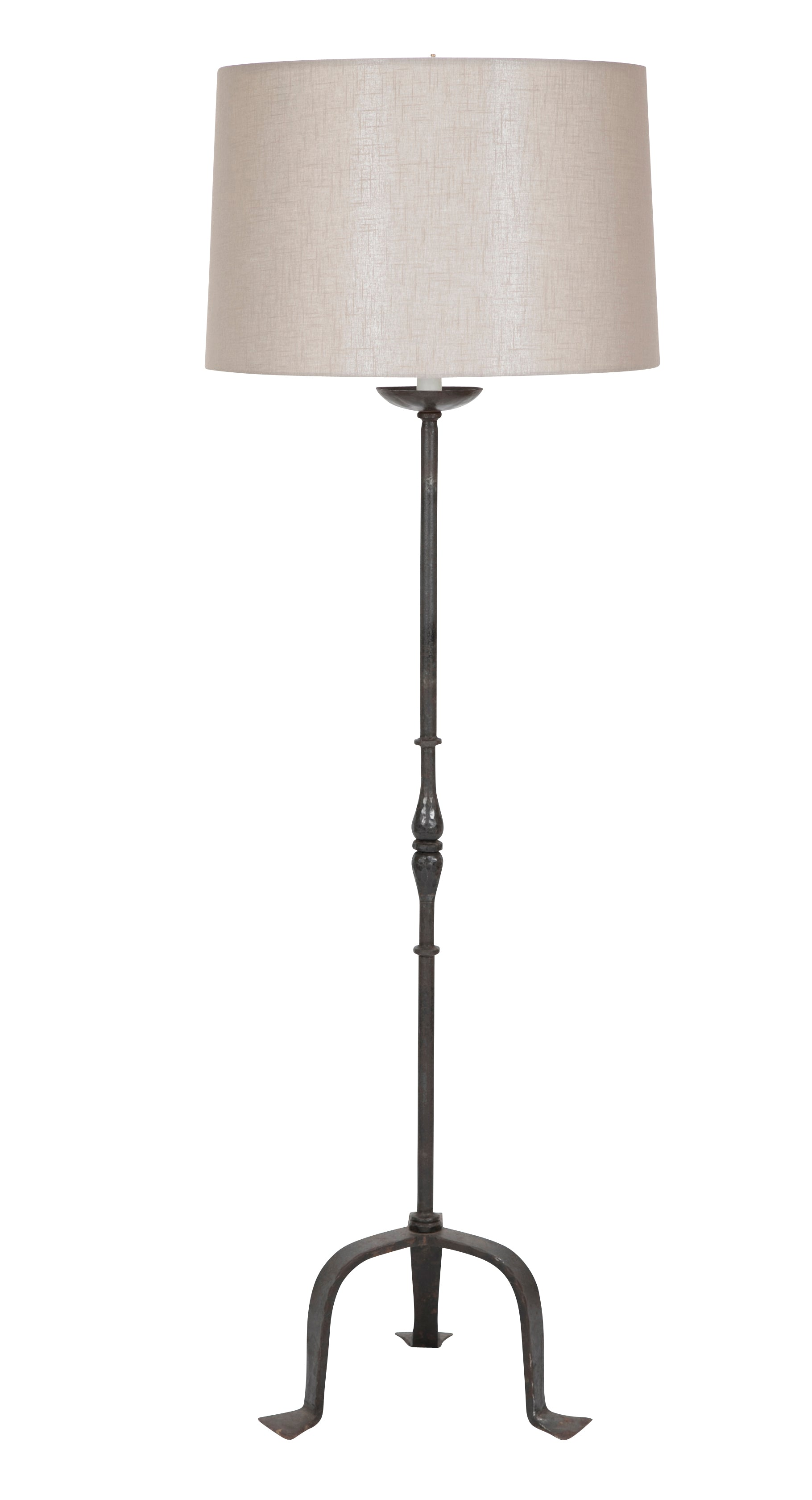 French Iron Standing Lamp