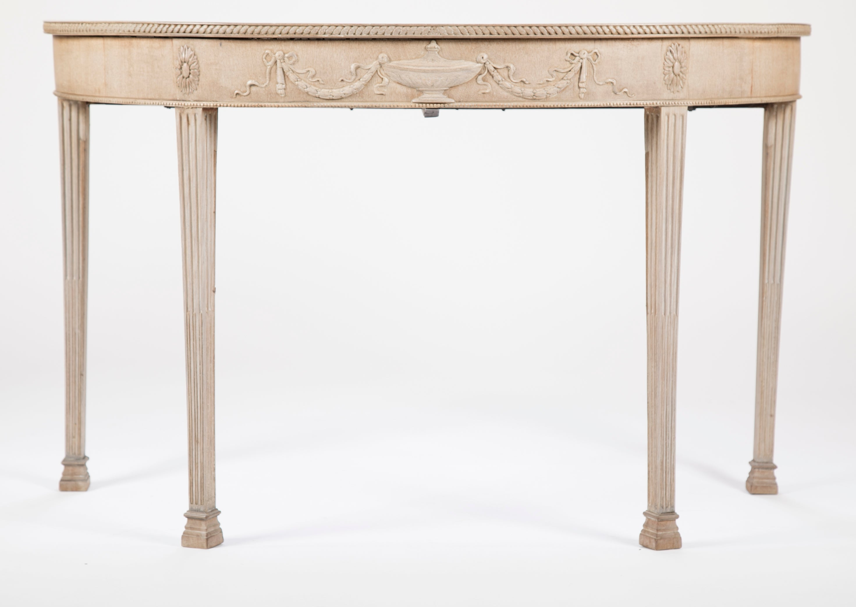 george iii demi lune console table avery dash collections. Black Bedroom Furniture Sets. Home Design Ideas