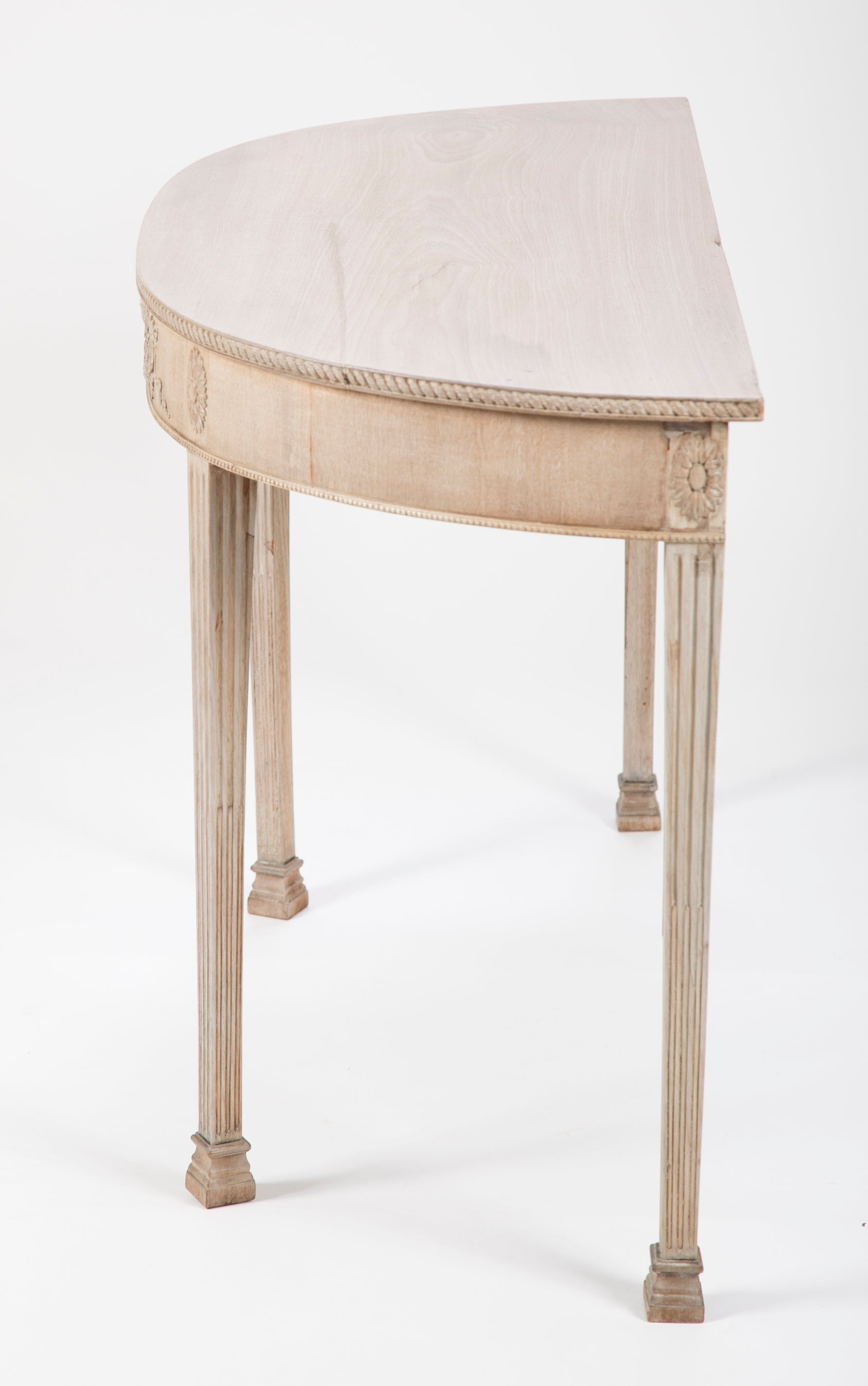 George III Demi Lune Console Table