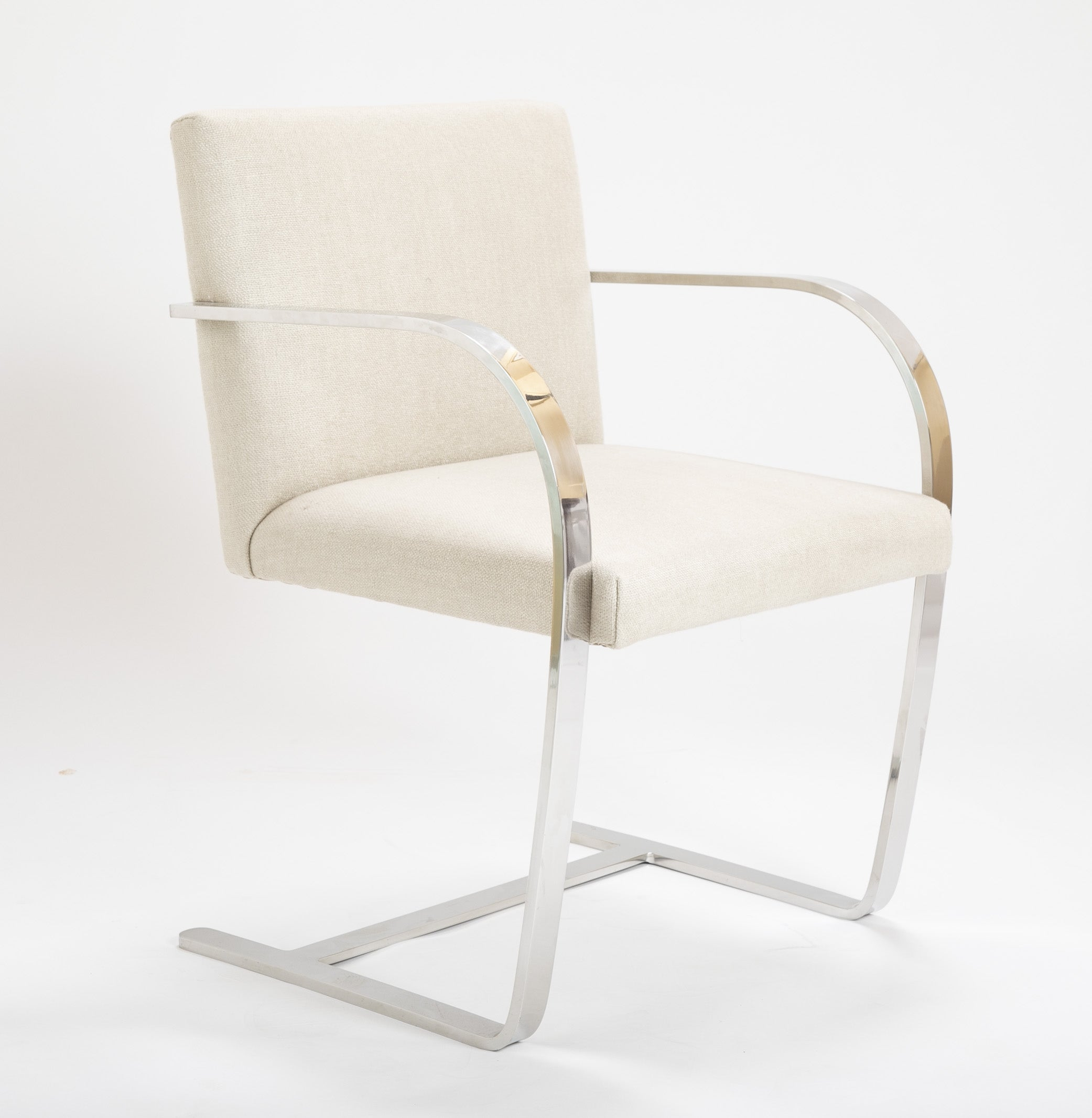 Knoll Brno Flat Bar Chair Designed by Marcel Breuer