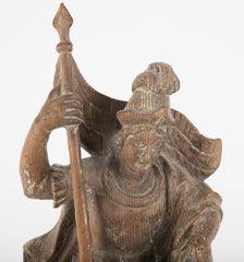 18th Century Austrian Carving of St. Florian