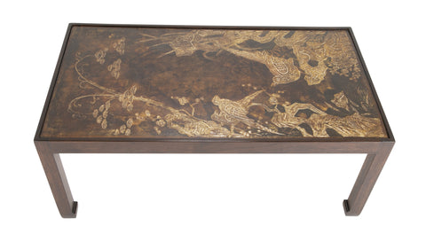 Josef Weilhammer Chinoieserie Modern Lacquered Coffee Table