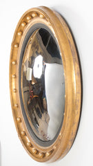 Large Regency Style Convex Mirror