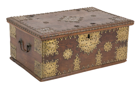 Late 19th Century English Wooden Casket