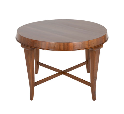 Art Deco Walnut Center/Games Table