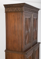 Anglo-Indian Rosewood Regency Style Cabinet