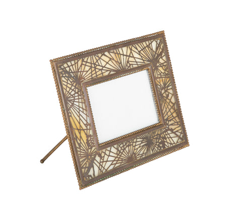 Tiffany Studios New York Signed Bronze Calendar Picture Frame