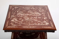 Early 20th Century Chinese Side Table with Inlay