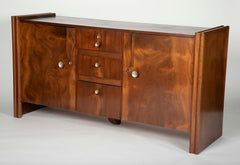 A Mid-Century American Two Door/Three Drawer Credenza