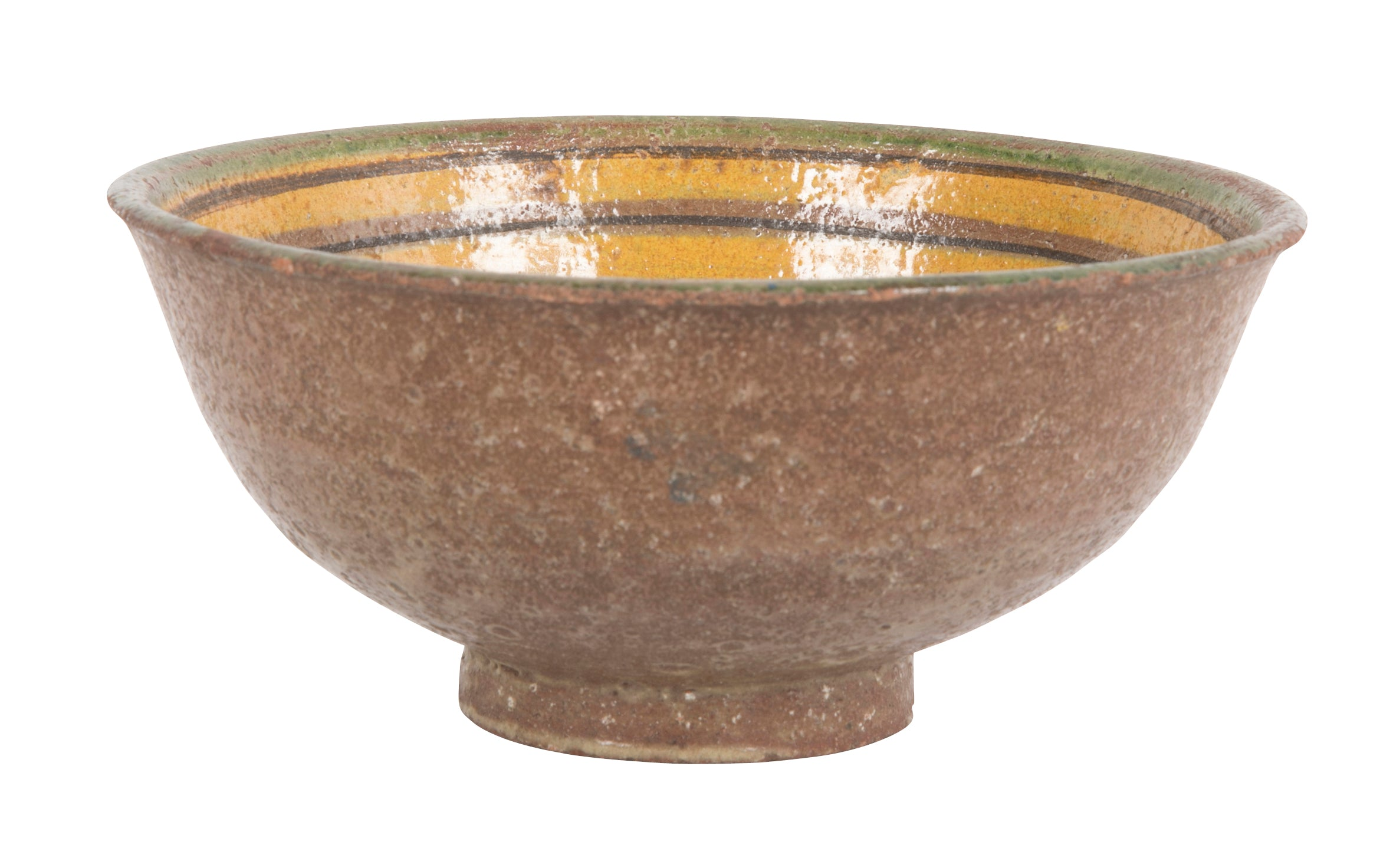Glazed Earthenware Bowl