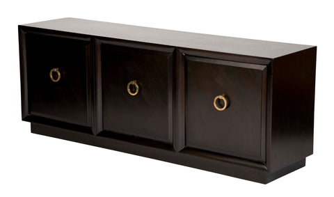 Low Ebonized Sideboard by T.H. Robsjohn-Gibbings for Widdicomb