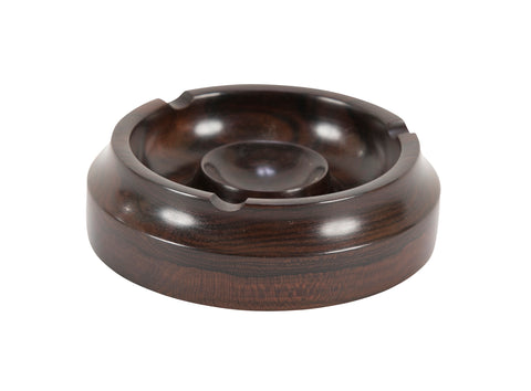 Lignum Vitae Wood Lathe Turned Ashtray