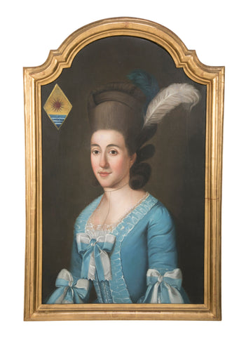 A portait of a Louis XIV Lady
