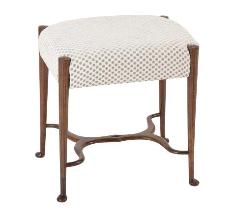 George III Style Fruit Wood Stool