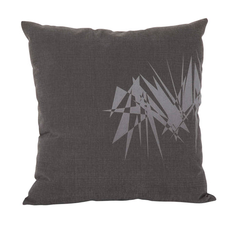 Contemporary Abstract Laser Processed Design Handmade Pillow