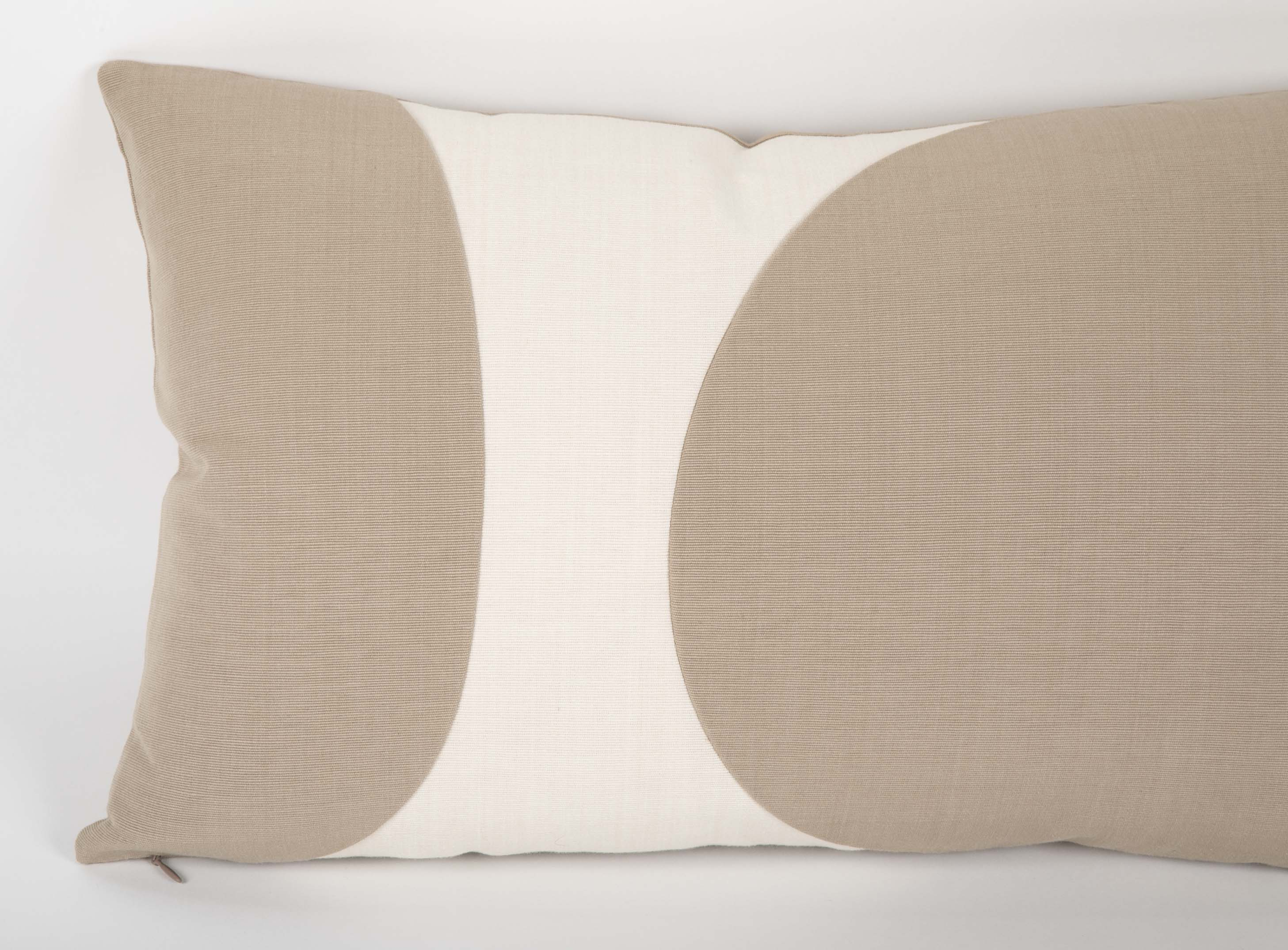 A Haute Couture Minimalist Pillow Designed and Handmade by Graph and Faraway