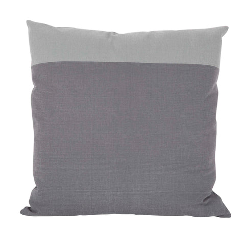 Contemporary Handmade Two Tone Colorblock Pillow