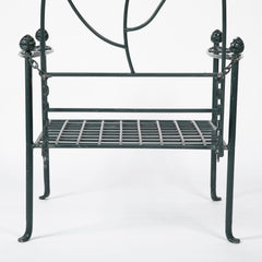 Wonderful Set of 11 Pieces of Vintage Cast Iron Porch Furniture