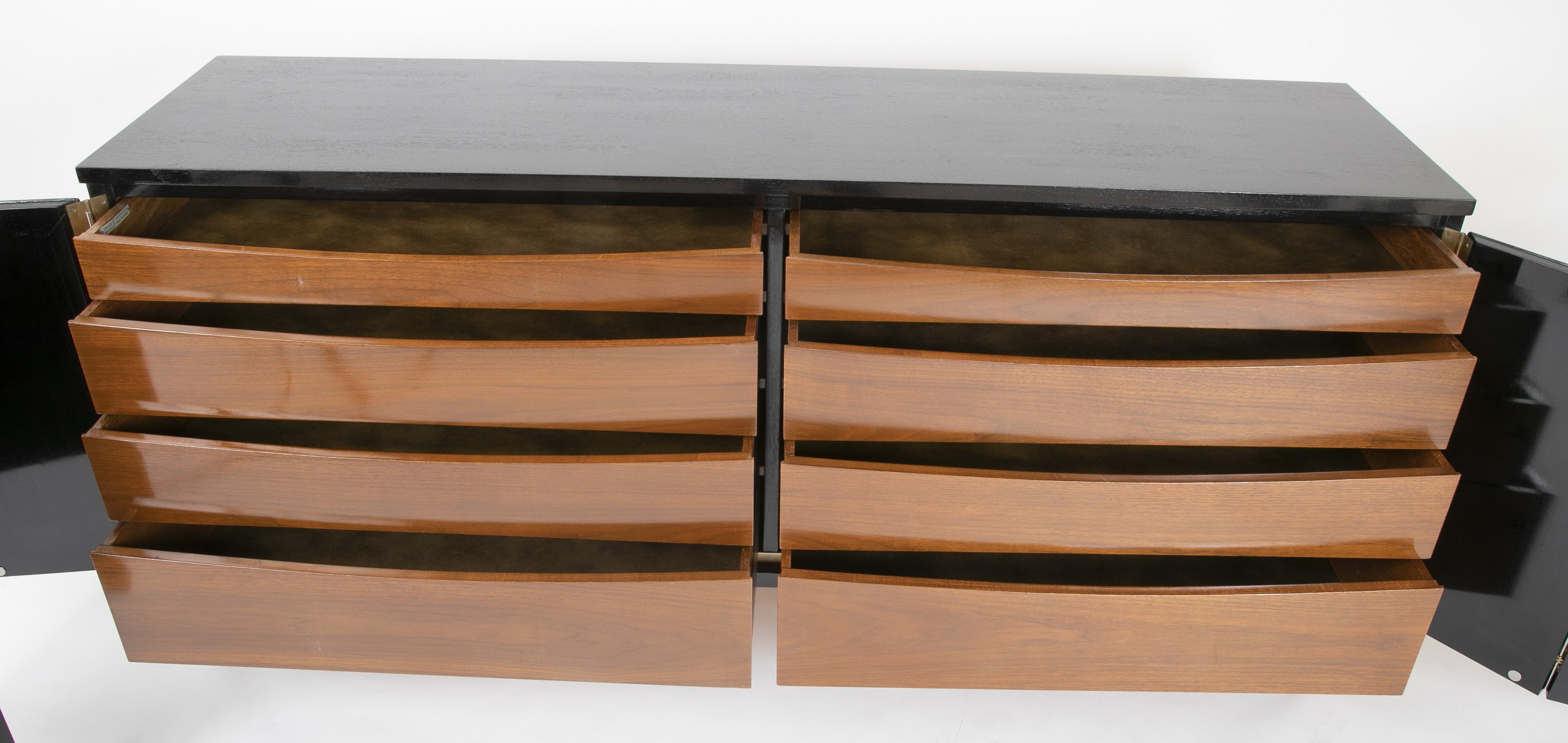 Paul McCobb for Calvin Ebonized Credenza Model 7707