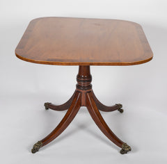 English Regency Breakfast or Center Table
