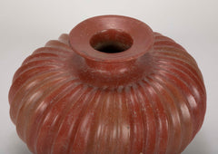 A Polished Redware Colima Vase from the Collection of Earl Reddick