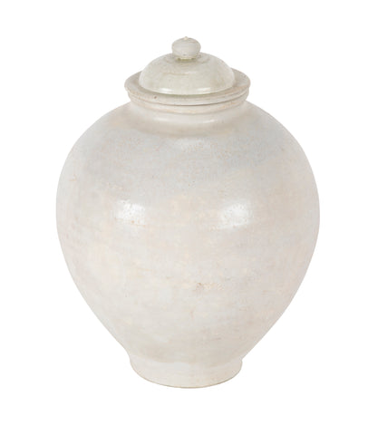 Tang Period Stoneware Covered Jar