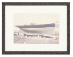 "Antique Yachting Photograph of ""Molly of Hamilton"" by W. Farmer"