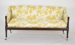 Federal American Sofa with Updated Fabric