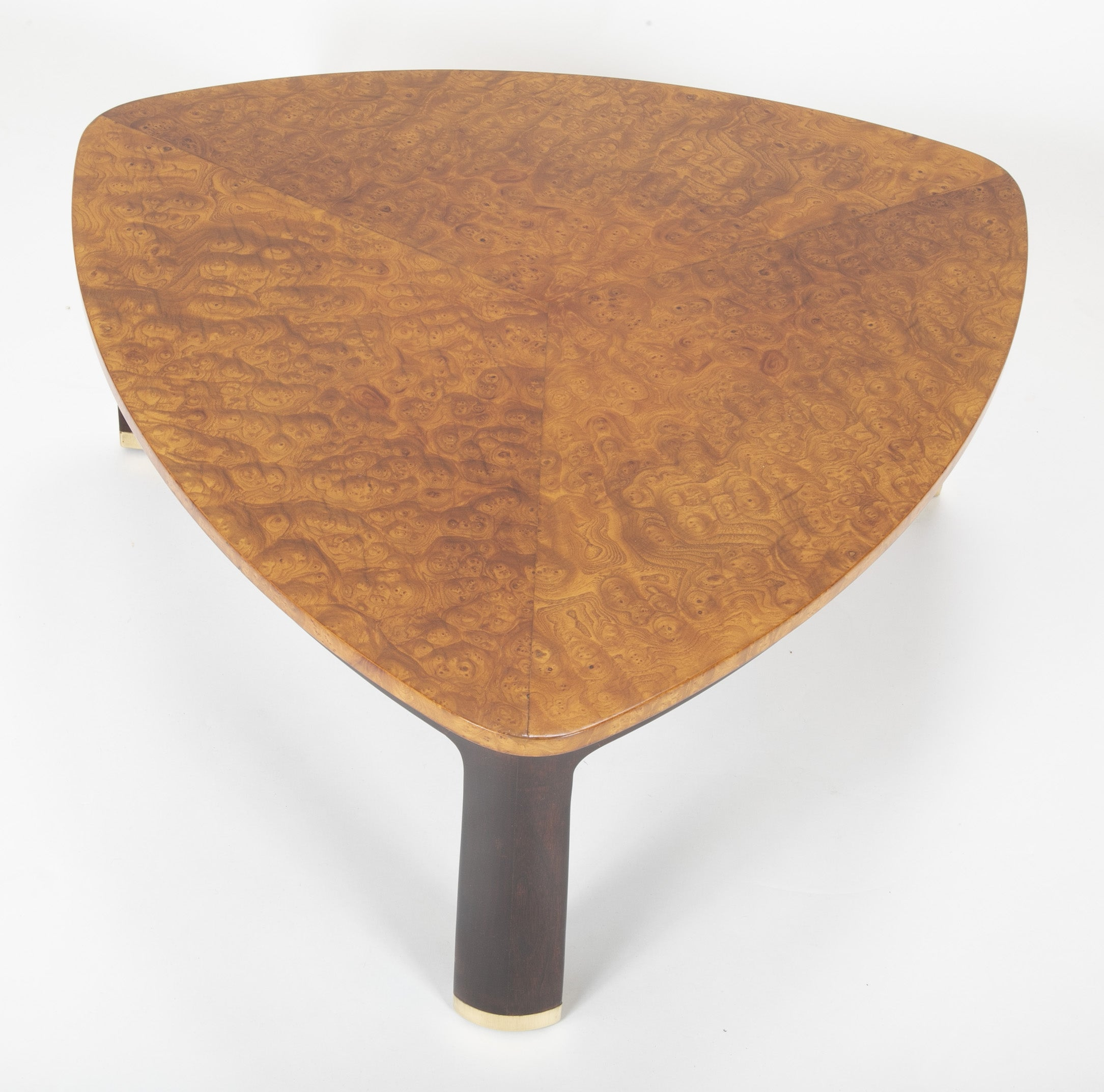 Carpathian Elm Coffee Table Designed by Edward Wormley for Dunbar