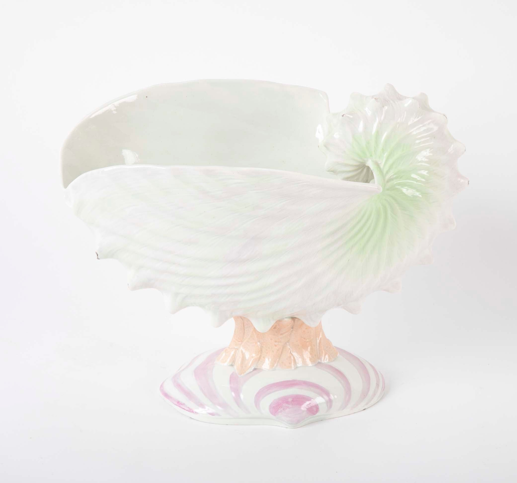 Wedgewood Nautilus Center Piece.