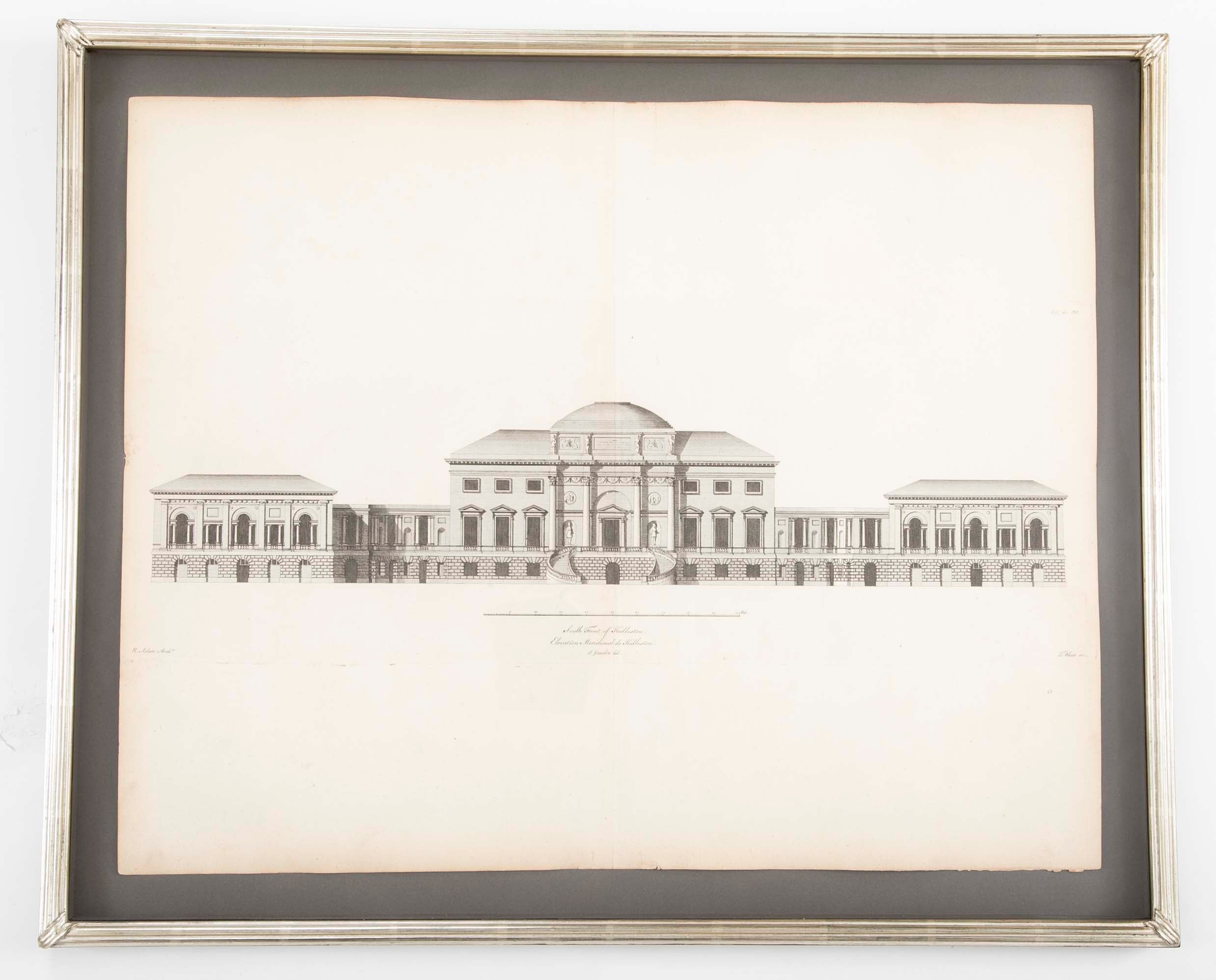 English Architectural Engravings