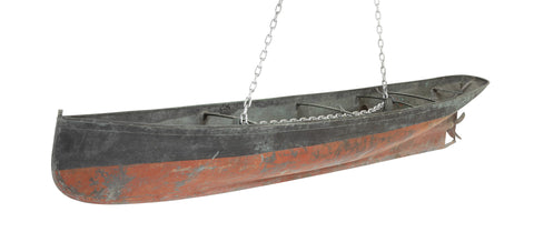 Molded Steel Hull for a Late 19th Century Steam/Sail Vessel